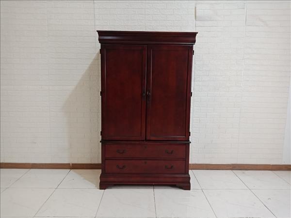 Tủ quần áo gỗ cao su SP009740