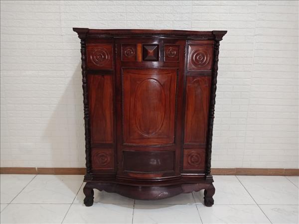 Tủ thờ gỗ Căm xe + Cẩm lai cũ SP009925