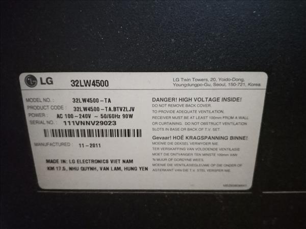 Tivi LG 32LW4500 cũ SP010151