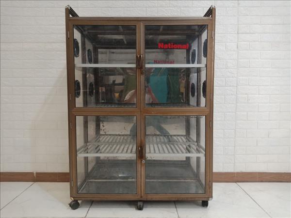 Tủ chén nhôm kính cũ SP009751