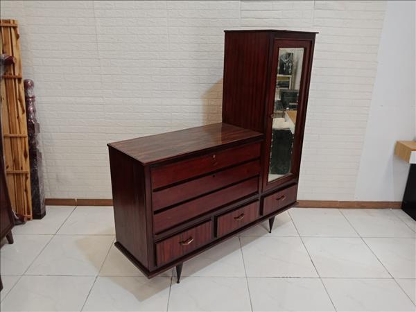 Tủ quần áo gỗ Gõ đỏ cũ SP009746.2