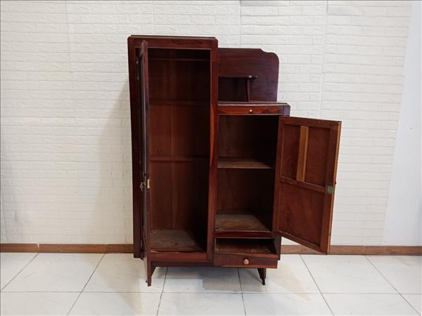 Tủ quần áo gỗ Gõ đỏ cũ SP009746