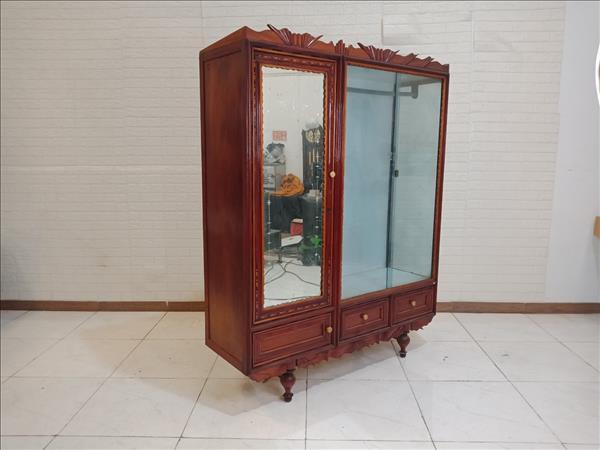 Tủ quần áo gỗ Gõ đỏ + Hương cũ SP009726