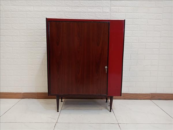 Tủ quần áo gỗ thông cũ SP009748.1