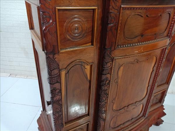 Tủ thờ gỗ Hương cũ SP009770