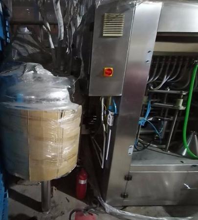 Thiết bị lọc nước đóng chai pet 3 trong 1 WT12-12-5 cũ SP014114