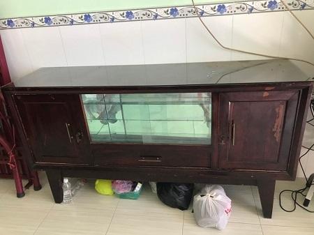 Tủ búp phê cũ SP014160