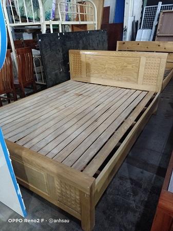 Giường gỗ thông cũSP014194