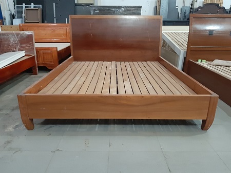 Giường gỗ tự nhiên cũ SP014113.1