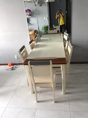 Bộ bàn ăn cũ SP014147