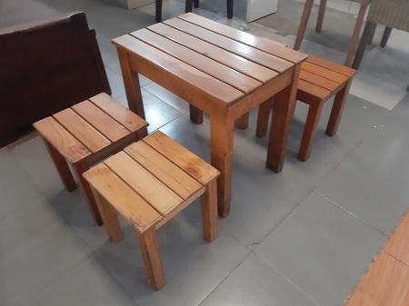 Bộ bàn cafe cũ SP014119