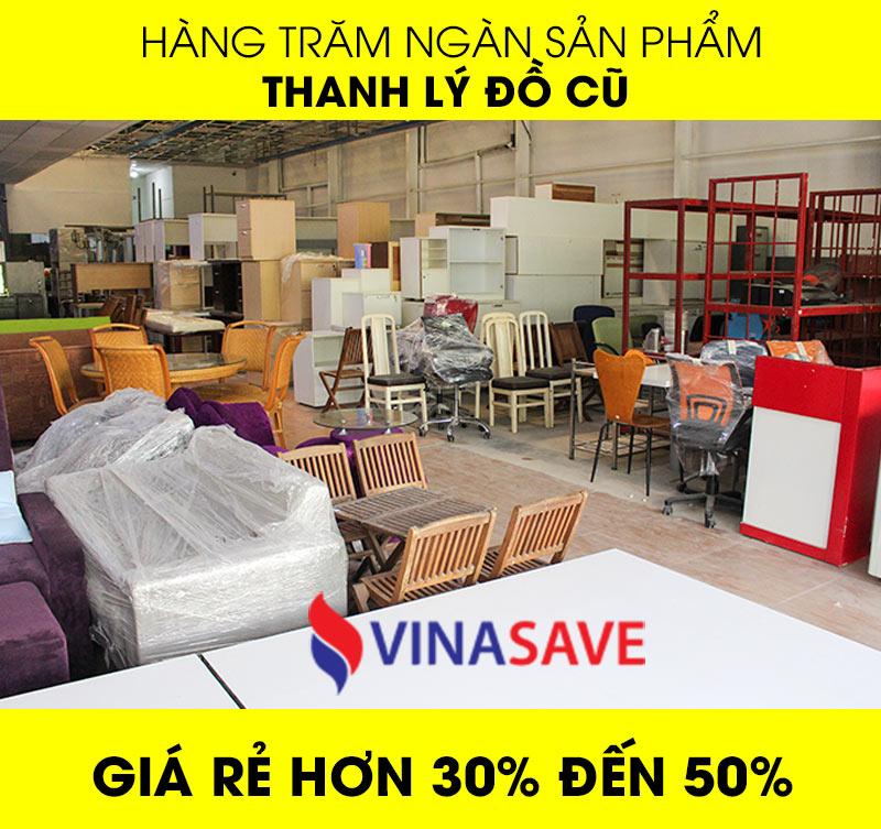 Thanh lý đồ cũ giá rẻ hơn 30% đến 50%
